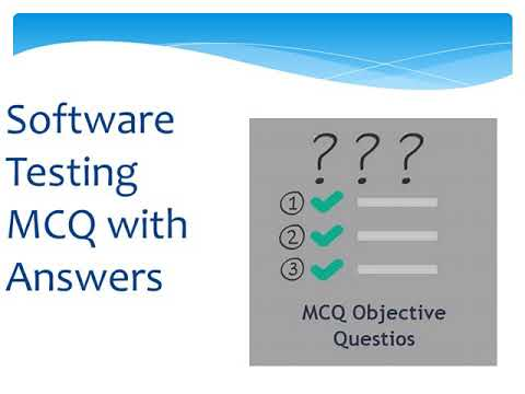 MCQ with answers # software testing # apptitude test
