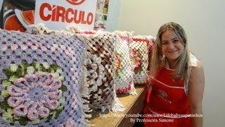 Coleção Almofadas em Crochê  da Professora Simone