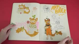 SVA Sketchbooks: Kaelin Warde