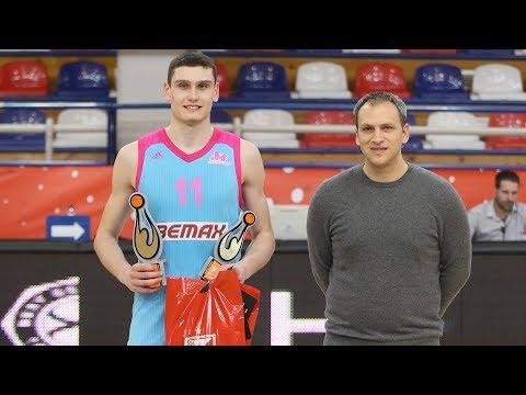 EB ANGT Belgrade MVP: Aleksandar Langovic, U18 Mega Bemax Belgrade