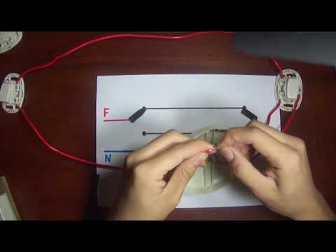Como conectar Interruptores de conmutación | Esquema , explicación y armado