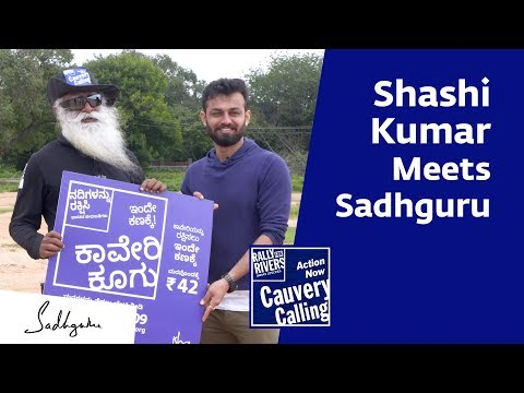 Bigg Boss Kannada Winner Shashi Kumar with Sadhguru [Full Talk]
