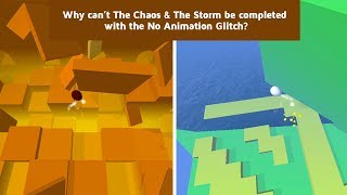 Dancing Line - Why The Storm & The Chaos are Impossible with No Animation Glitch