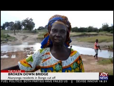 Broken Down Bridge - The Pulse on JoyNews (18-9-18)