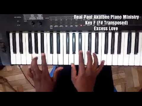 Mercy Chinwo - Excess Love Reggae Piano Bass lines and Chords