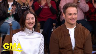 Good Morning America - Caitriona Balfe & Sam Heughan