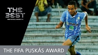 Mohd Faiz Subri (MAS) - FIFA PUSKAS AWARD 2016 WINNER!
