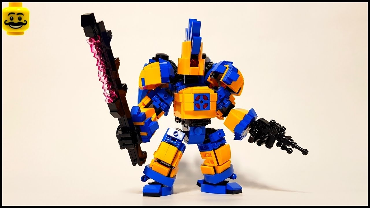 LEGO MV2 Mech Frame Inspiration 2