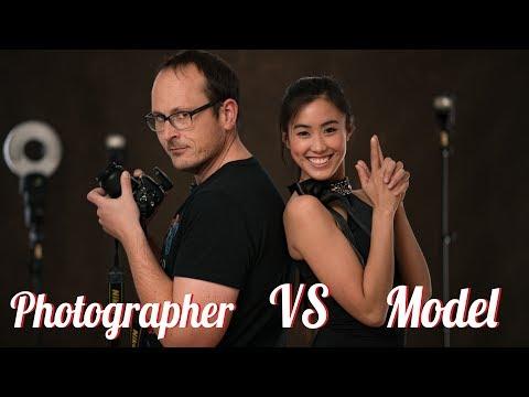 Model vs Photographer - (Roles Reversed)