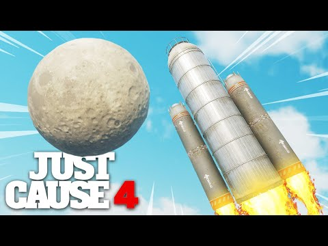 Just Cause 4 - WORKING ROCKET SHIP EXPERIMENT!
