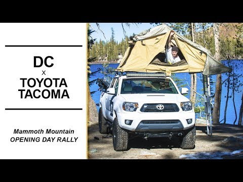 d24053373d1b DC Shoes Toyota Tacoma in Action - Camping