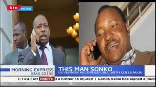 This man Sonko: When he put President Uhuru's call on loudspeaker to stop demolitions