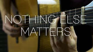 Metallica   Nothing Else Matters   Fingerstyle Guitar Cover