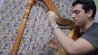 Cristian Javier- BOHEMIAN RHAPSODY - Queen- FREDDIE MERCURY (Cover) en Arpa Paraguaya (Fragmento)