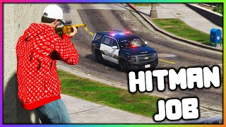 GTA 5 Roleplay - HITMAN FOR HIRE   RedlineRP