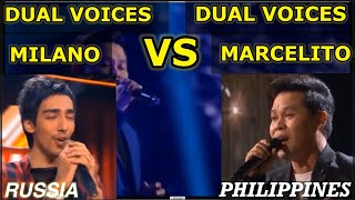 MARCELITO VS. MILANO | DUAL VOICES VS. DUAL VOICES | TIME TO SAY GOODBYE | BATTLE OF THE BEST