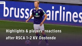 Highlights & players' reactions after #ANDKVO
