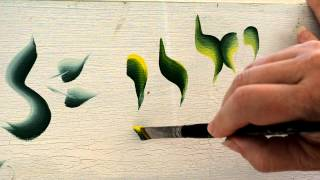 Basic Strokes In Decorative Painting
