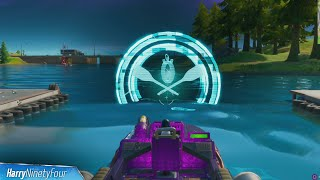 Complete the Boat Time Trial at Motorboat Mayhem Location - Fortnite