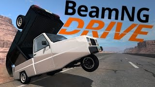 BeamNG Drive - Heavy Delivery!!! Weird Hauling Scenarios - BeamNG Drive Gameplay Highlights