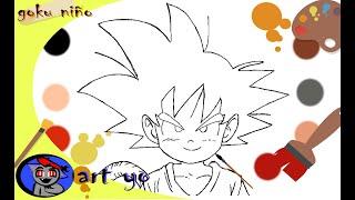 Dibujos Para Dibujar De Goku 免费在线视频最佳电影电视节目 Viveos Net