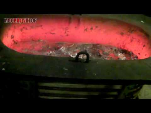 Плавка алюминия печь 400 кг