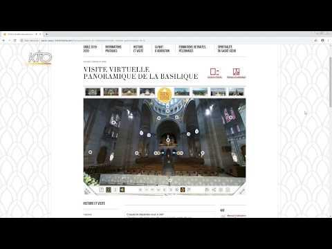 Le site web du Sacré-Coeur de Montmartre