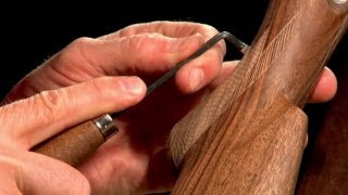 Gunsmithing - How to Checker a Gunstock Presented by Larry Potterfield of MidwayUSA