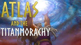 Atlas Greek Bearer of the Sky Mythology