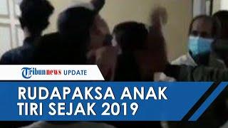 VIDEO: Detik-detik Ayah di Ciputat Digerebek Keluarga dan Warga, Mengaku Cabuli Anak Tiri Sejak 2019