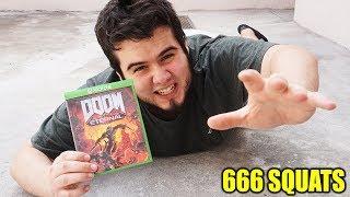Doing 666 Squats For Doom Eternal Challenge