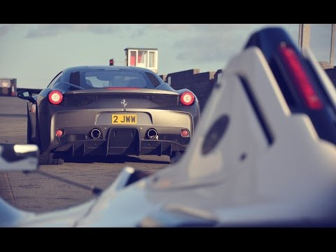 Ferrari 458 Speciale On Track - Anglesey Track Day
