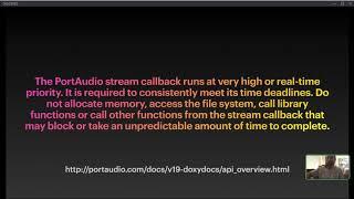 Thomas J. Webb - Real-Time Audio Programming in Haxe