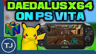 PS Vita Nintendo 64 Emulator Install & Test! (Daedalusx64)