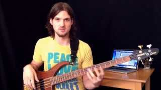 """Locrian Scales For Bass + """"Juicebox"""" by The Strokes"""
