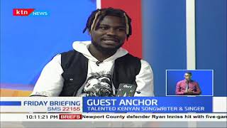 Nviiri Sande talented Kenyan Songwriter and singer | GUEST ANCHOR