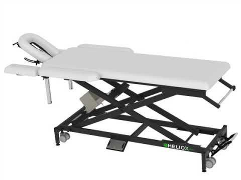 Массажный стол с электроприводом Heliox X102