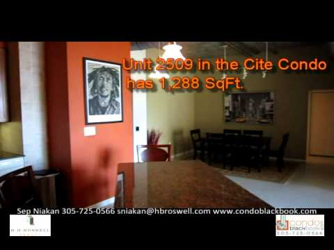 Cite Condo in Downtown Miami - Loft Unit 2509 for Sale - Video Tour