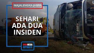 Dua Insiden Kecelakaan Tunggal Terjadi dalam Sehari di Tol Cipali, Sejumlah Orang Luka