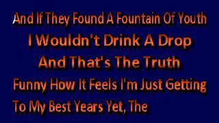 Alan Jackson   Older I Get Karaoke
