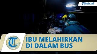 Seorang Wanita Asal Sumedang Melahirkan di Dalam Bus, Polisi Kawal Bus hingga Sampai ke Rumah Sakit