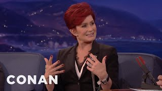 Sharon Osbourne On Donald Trump   CONAN On TBS