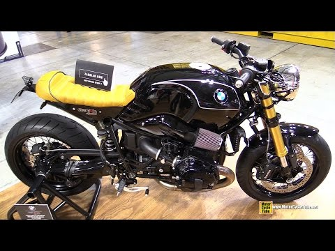 2015 BMW R NineT Mr Martini with Zard 2x2 Exhaust Kit - Walkaround - 2014 EICMA Milan