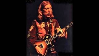"""Loan Me a Dime"" Boz Scaggs with Duane Allman"