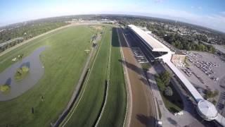 Belmont Park Race Track. Live professional race!!