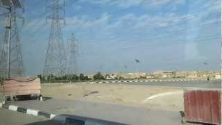 preview picture of video 'HD STREETVIEW IRAQ: Autofahrt in Najaf - driving in Najaf IRAK النجف'