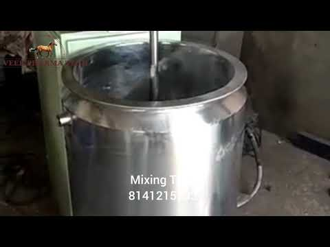1500L Stainless Steel Liquid Mixing Tank