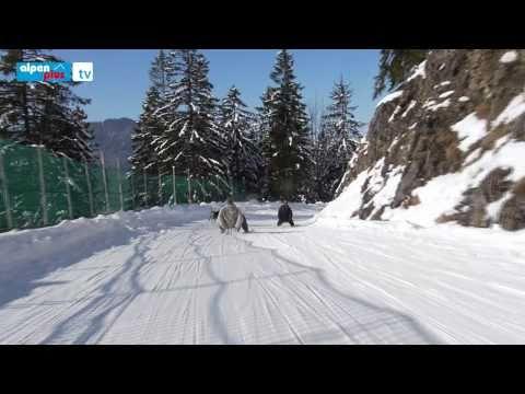 Winter auf dem Wallberg bei Rottach-Egern