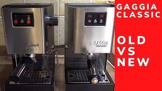 Gaggia Classic Espresso Machine Old VS New (pre-2015 Alu vs post-2015 Steel)