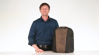 Pro Executive Laptop Backpack By WaterField Designs